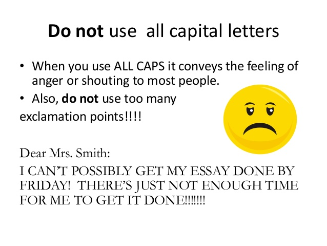 Email All Letters First Letters Capitalized